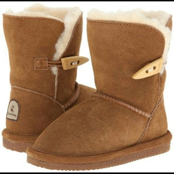 Bearpaw Victorian Boots Hickory